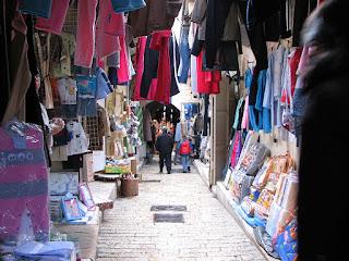 Souq in Nazareth