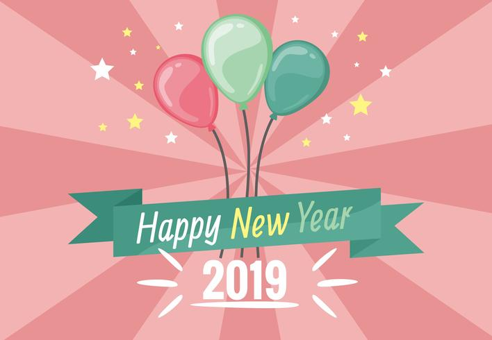 happy new year 2019 vector  chữ happy new year vector  happy new year 2018 vector  background new year vector