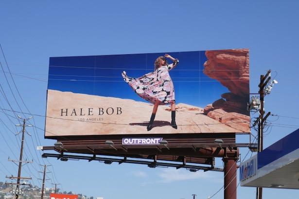 Hale Bob Fall 2019 billboard