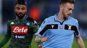لاتسيو يتغلب على نابولي ويواصل مطاردة المتصدر والوصيف في الدوري الايطالي