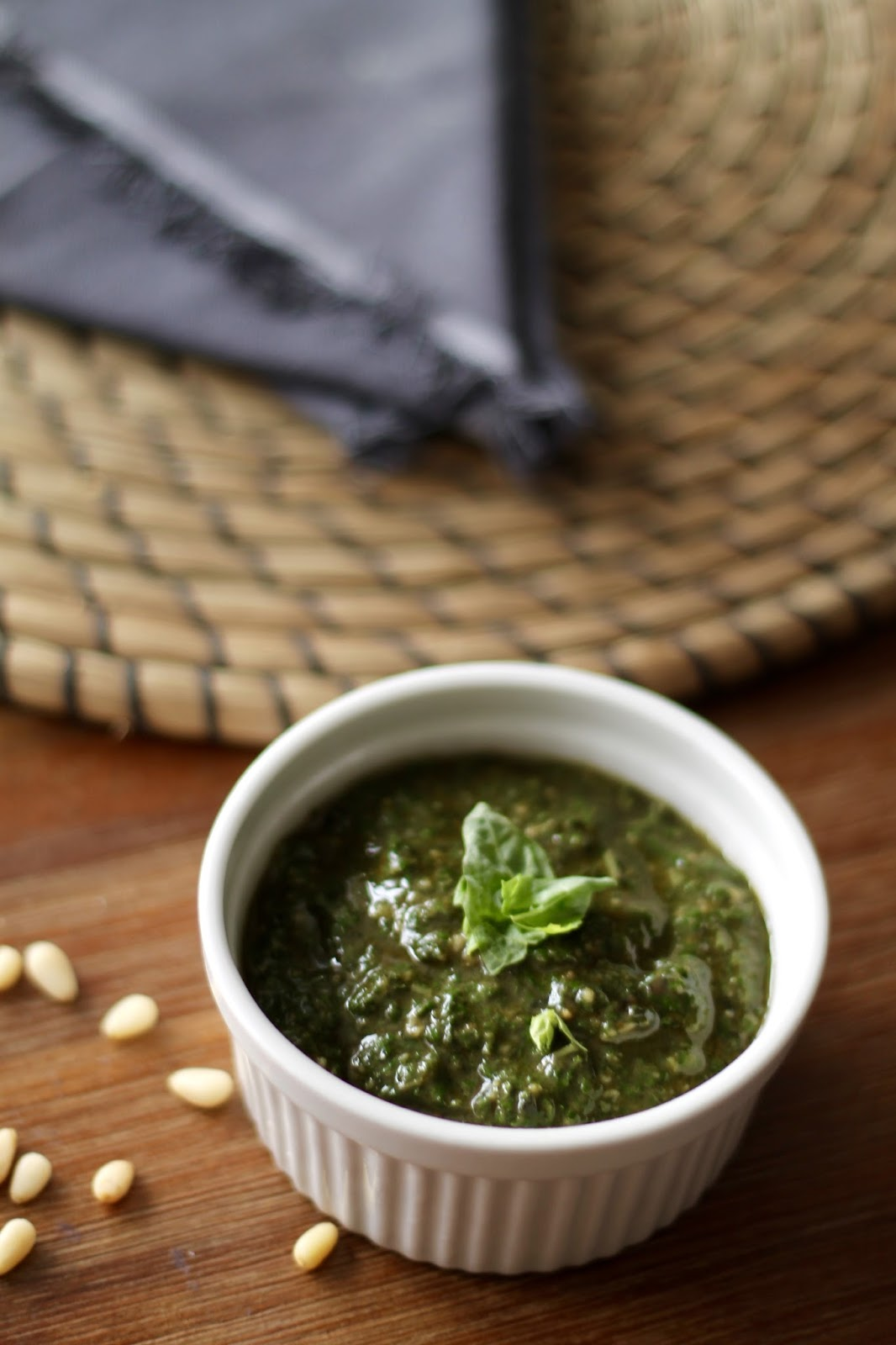 basil, pesto, healthy, easy, recipe, dairy, free