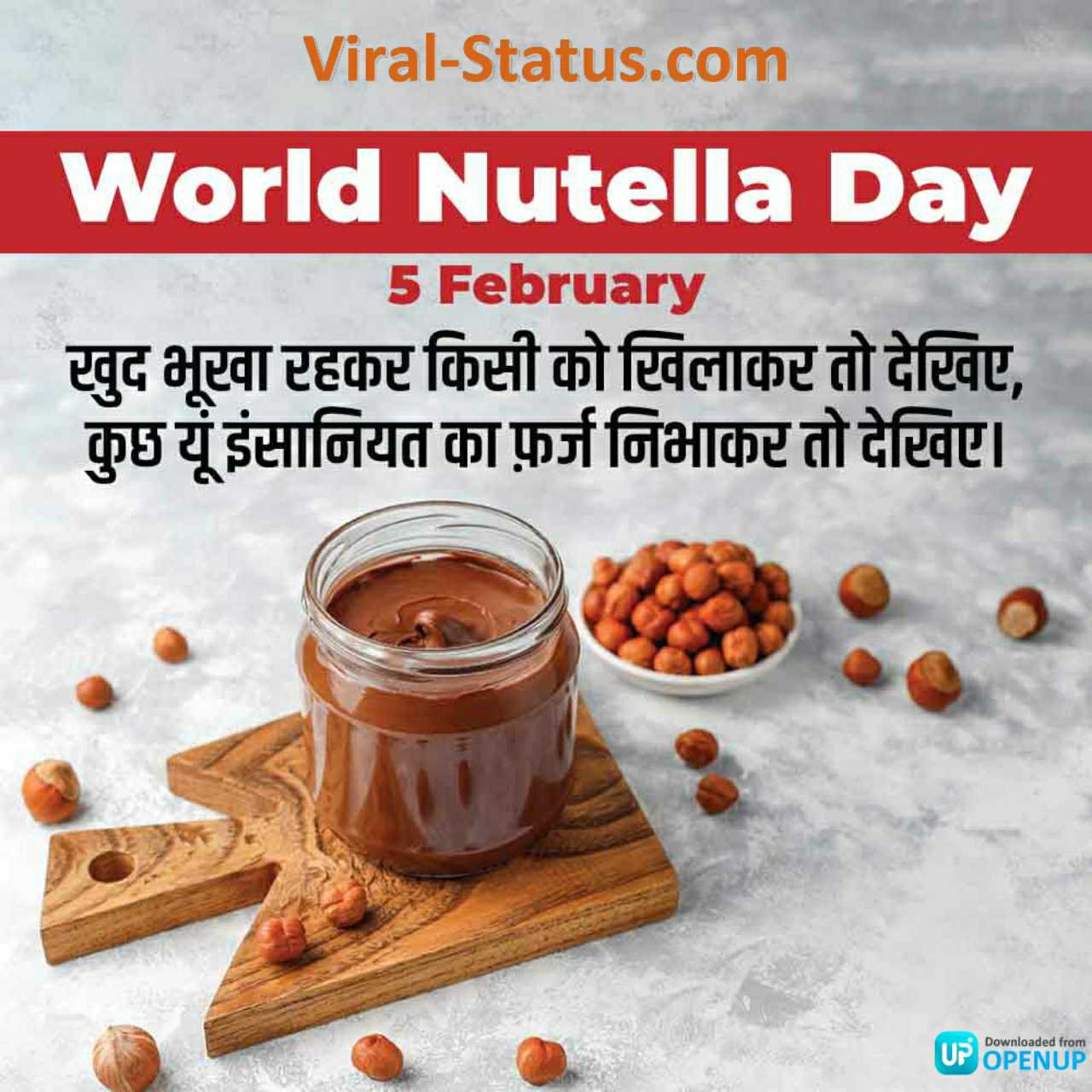 world nutella day