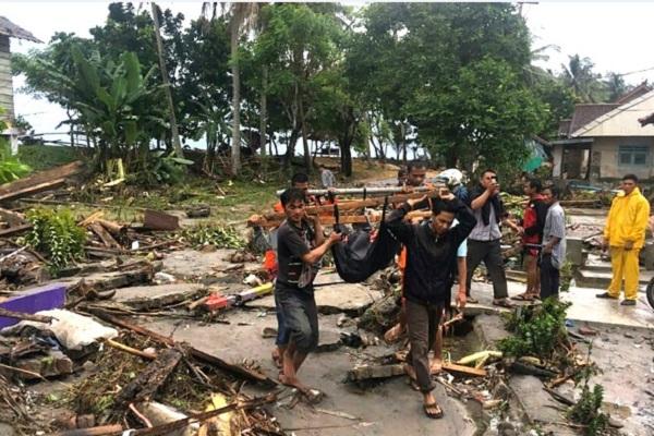 BNPB: Korban Tsunami Selat Sunda Capai 168 Jiwa