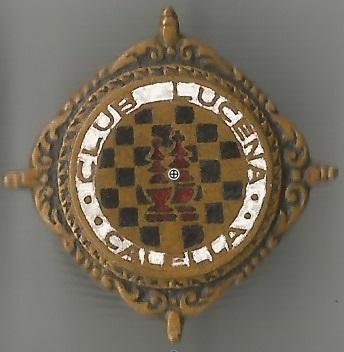 Insignia del Ajedrez Club Lucena, de Calella