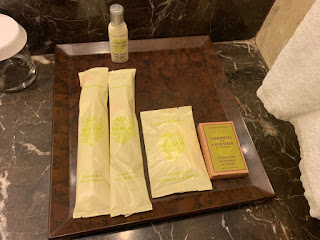 Crabtree & Evelyn amenities at Hilton Singapore