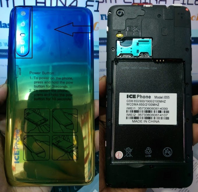 ICE PHONE i555 FLASH FILE MT6580 FIRMWARE