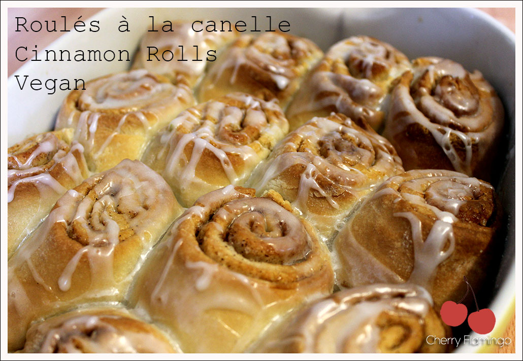 cinnamon rolls roul s la cannelle vegan cherry. Black Bedroom Furniture Sets. Home Design Ideas