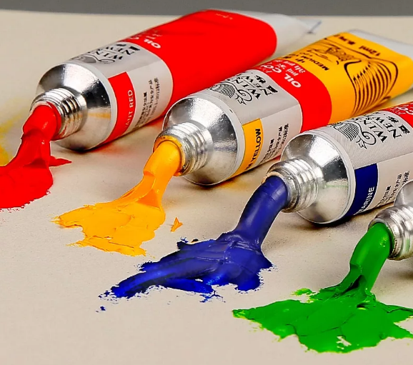 рисунок по ткани масляными красками
