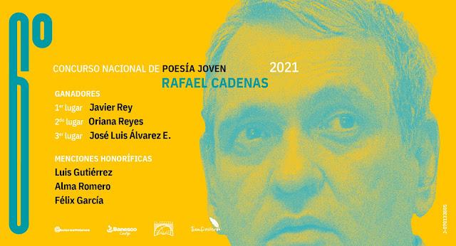 """CONCURSO: """"Agricultura 8"""" gana el 6to. Concurso Nacional de Poesía Joven Rafael Cadenas."""