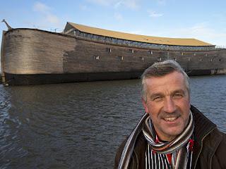 Réplica a gran escala Ark construida en los Países Bajos