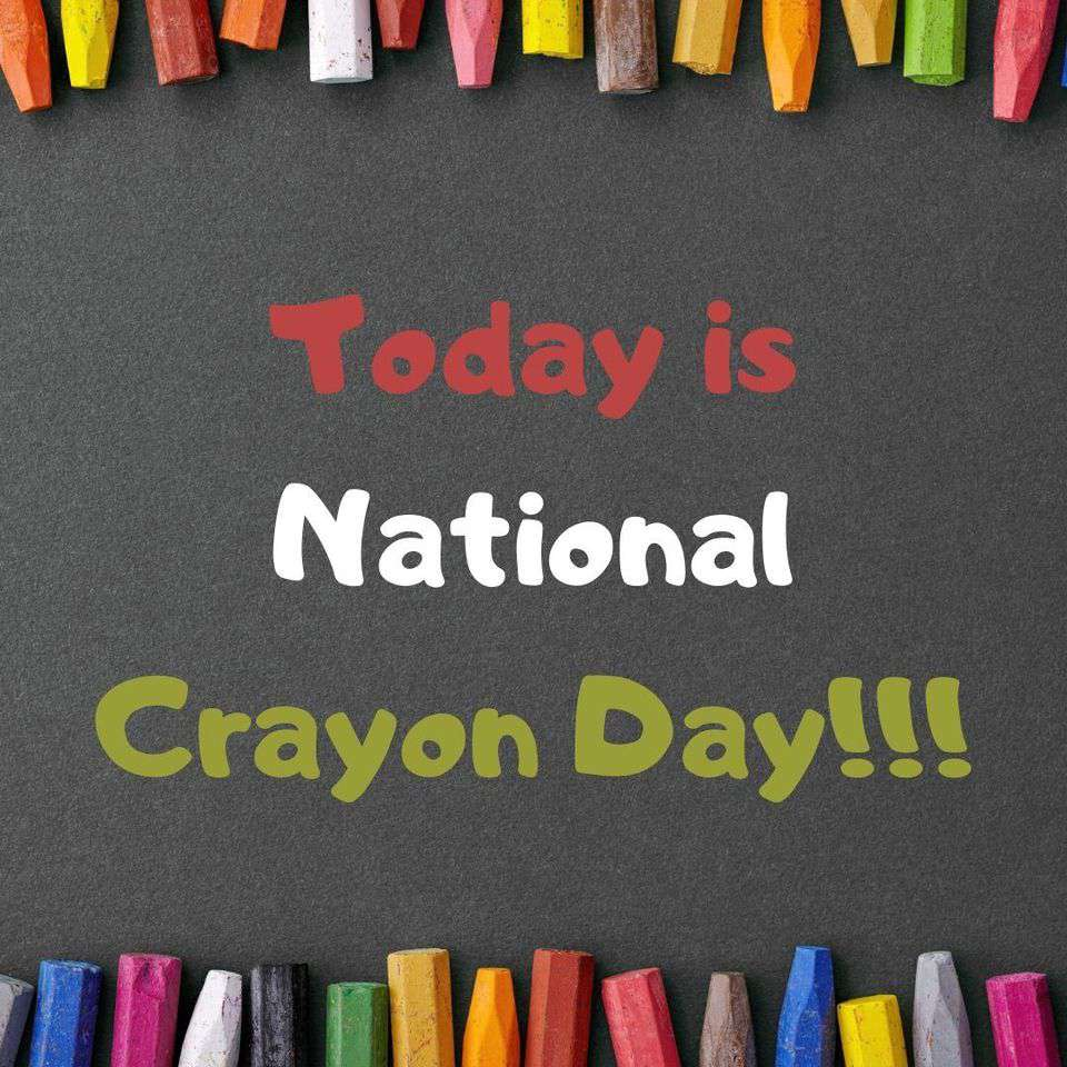 National Crayon Day Wishes pics free download