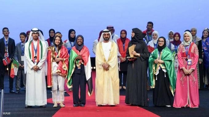 البطلة السودانية هديل انور تحصل على لقب القراءة العربي 2019