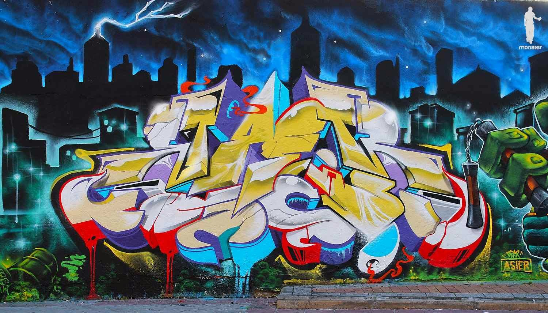 Monster Colors Graffiti Blog Spray Paint Cans Street Art