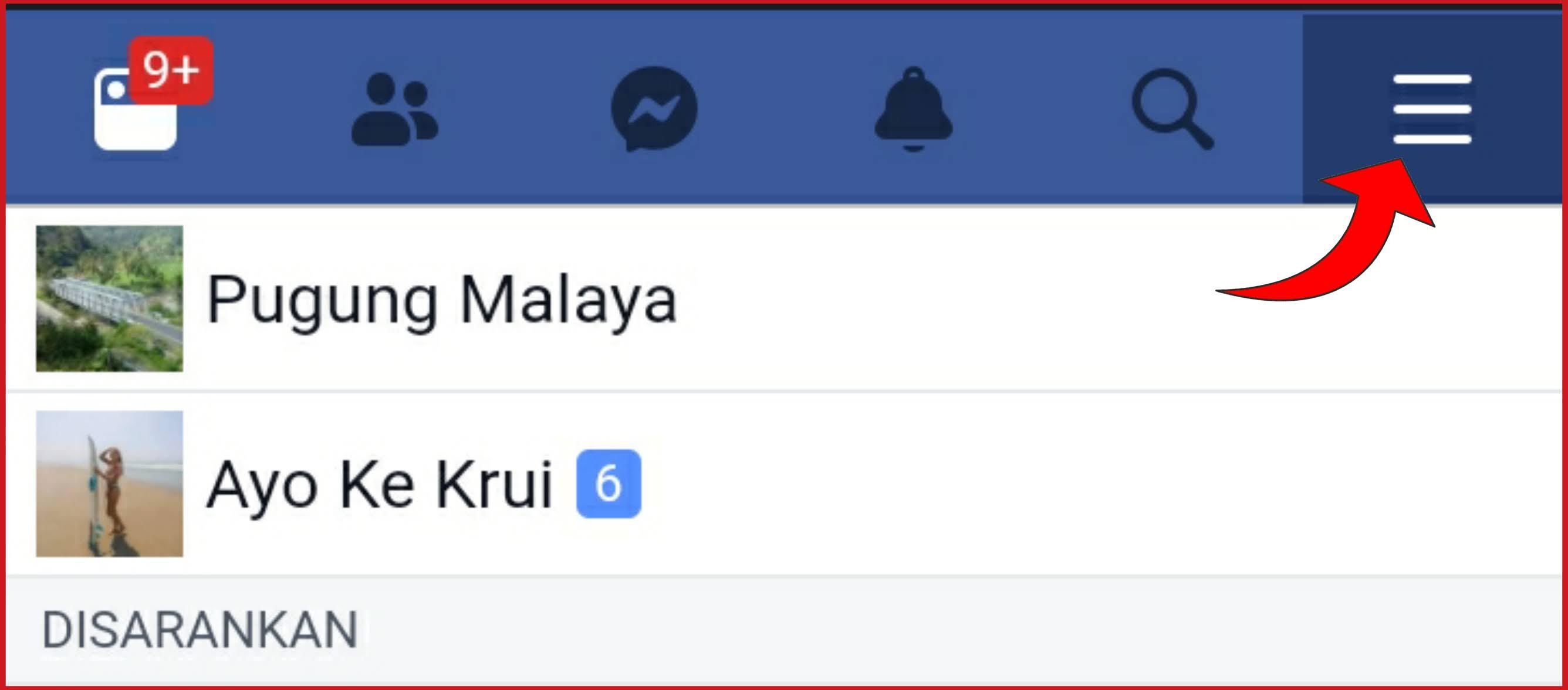 Cara nonaktifkan fitur menandai pada akun facebook