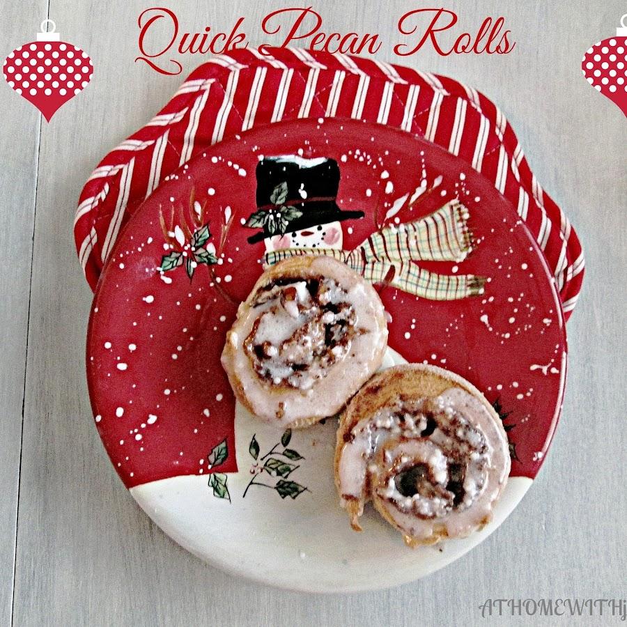 Christmas Pecan Rolls