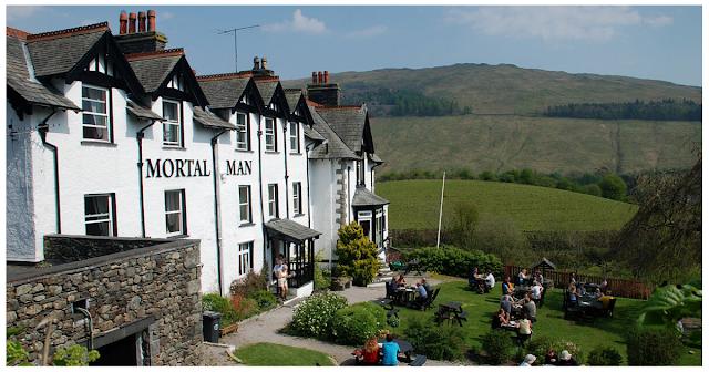Mortal Man Inn, Troutbeck near Windermere