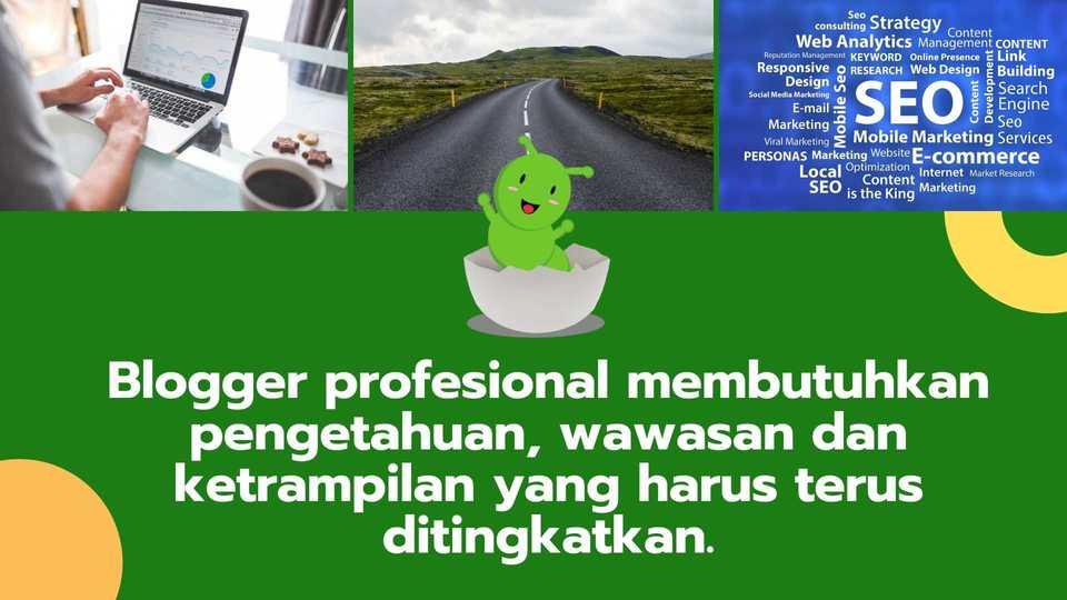 blogger profesional WeBS Bunda Cekatan