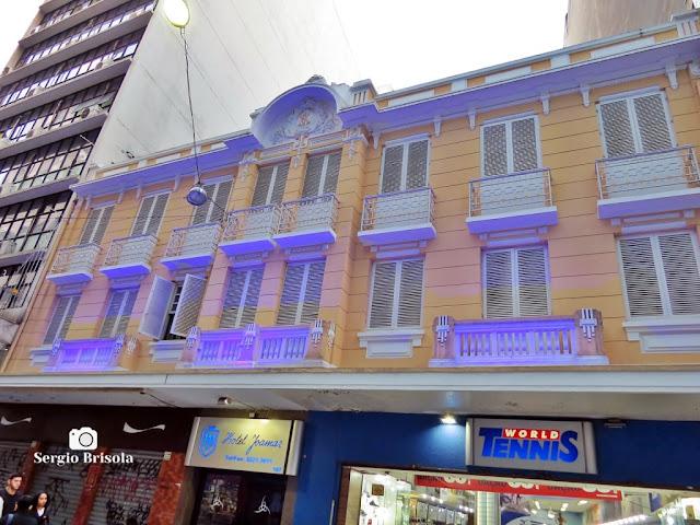 Vista da fachada do Hotel Joamar - República - São Paulo