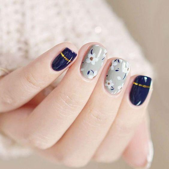 Floral nail art designs