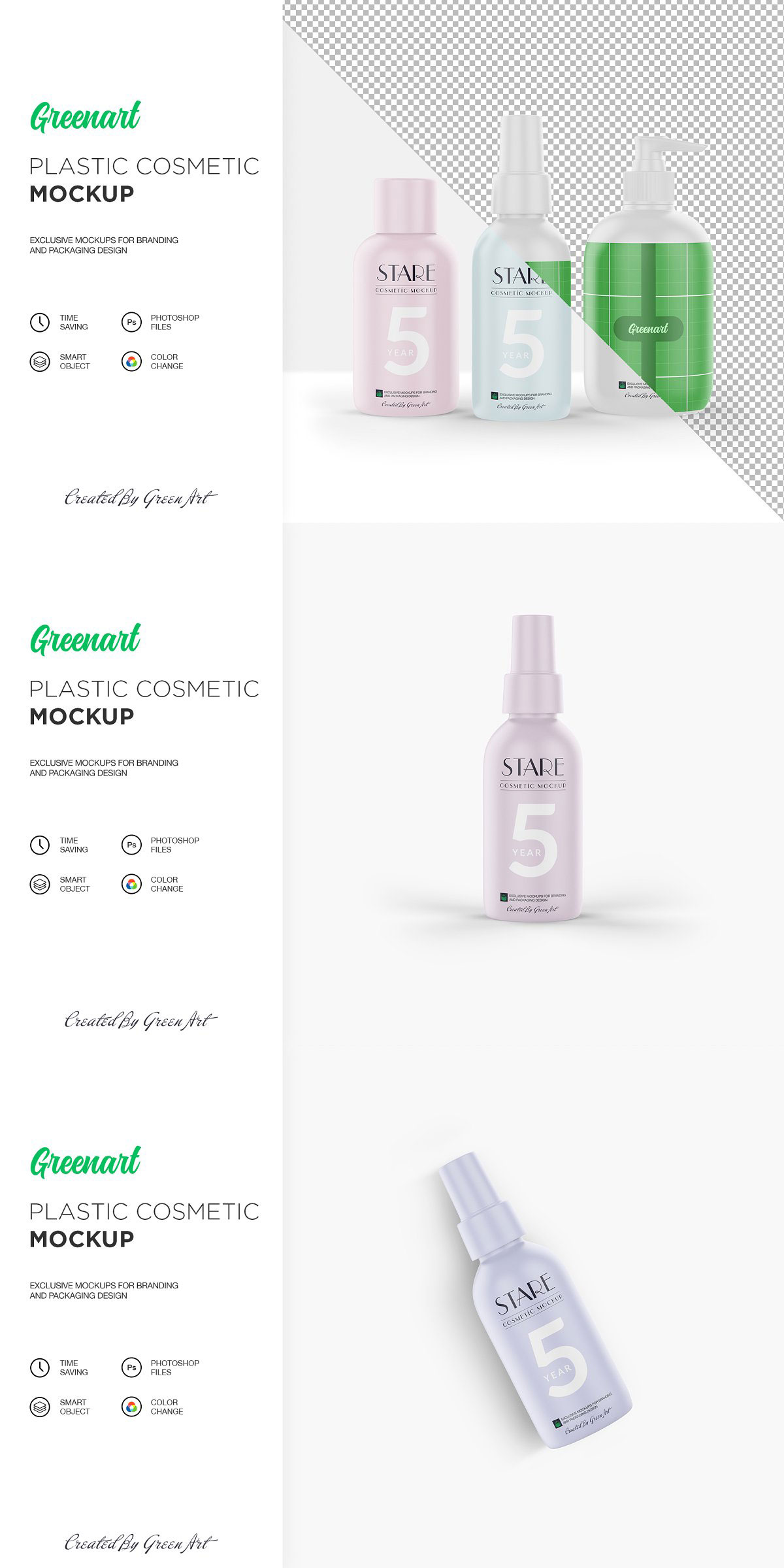 Cosmetic 7 PSD Mockup 2363765 Free Download