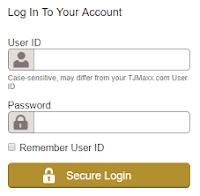 TJMaxx Credit Card Login