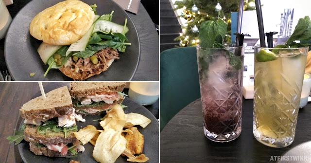 Anne & Max Rotterdam super club sandwich pulled beef lemonades