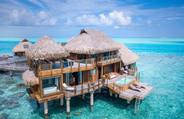 Stay in the Overwater Bungalow