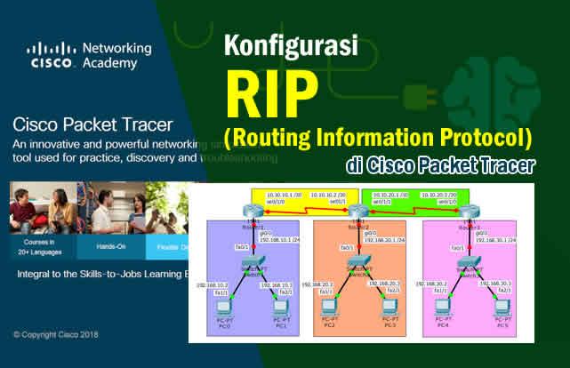 Cara Konfigurasi RIP di Packet Tracer