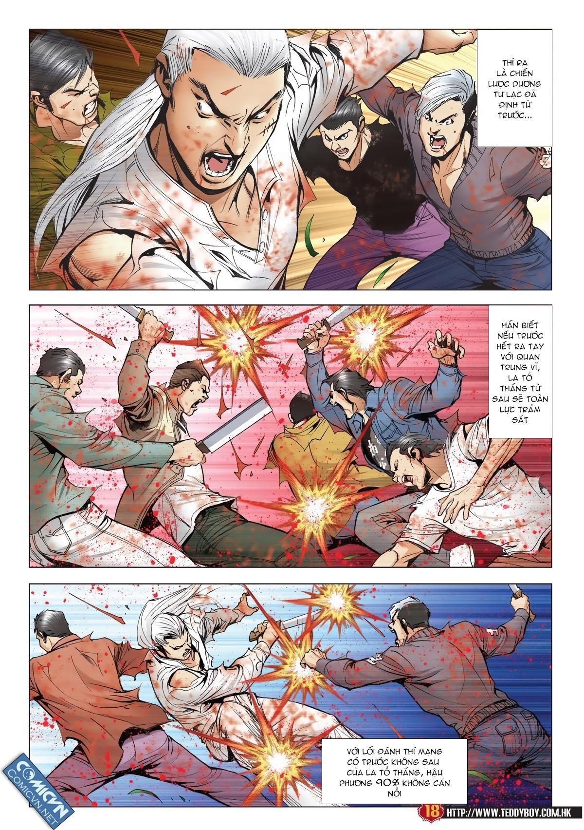 Người Trong Giang Hồ chapter 1986: chạy trang 16