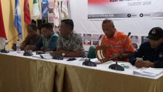 Rapat Pleno Terbuka KPU Malra