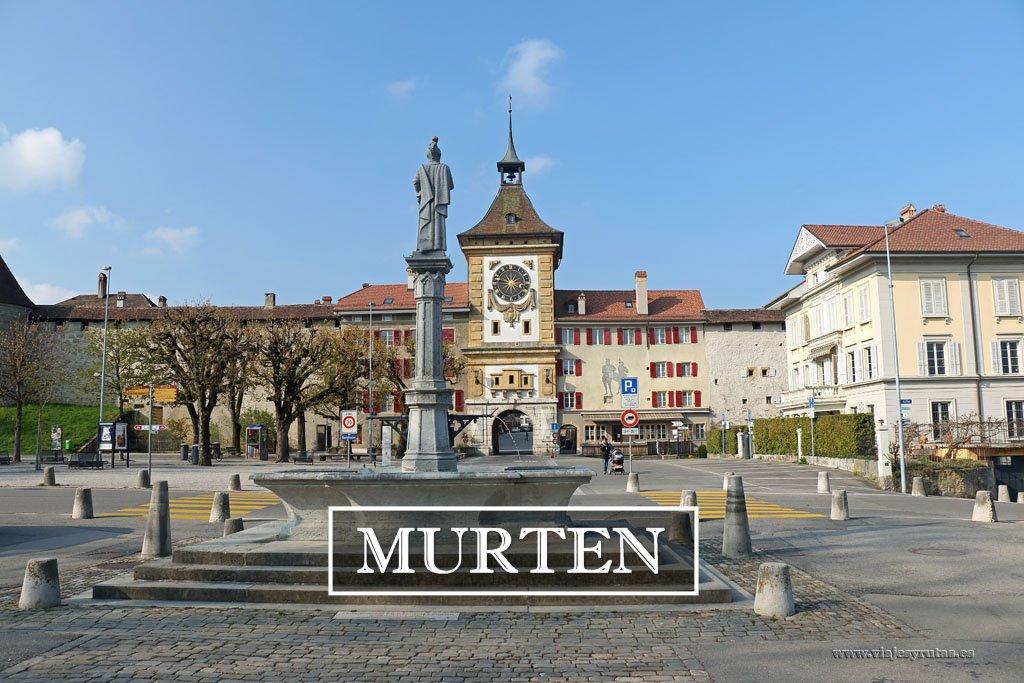 Qué ver en Murten, el pueblo más bonito de Suiza