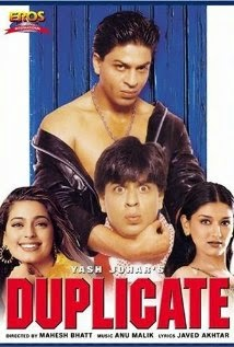 Download Duplicate (1998) Hindi Movie DVDRip 480p 400mb