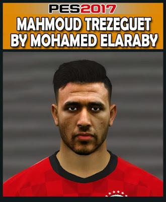 PES 2017 Mahmoud Trezeguet Face