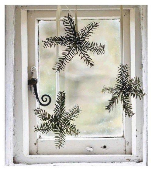 Decoração de Natal estilo escandinavo simples