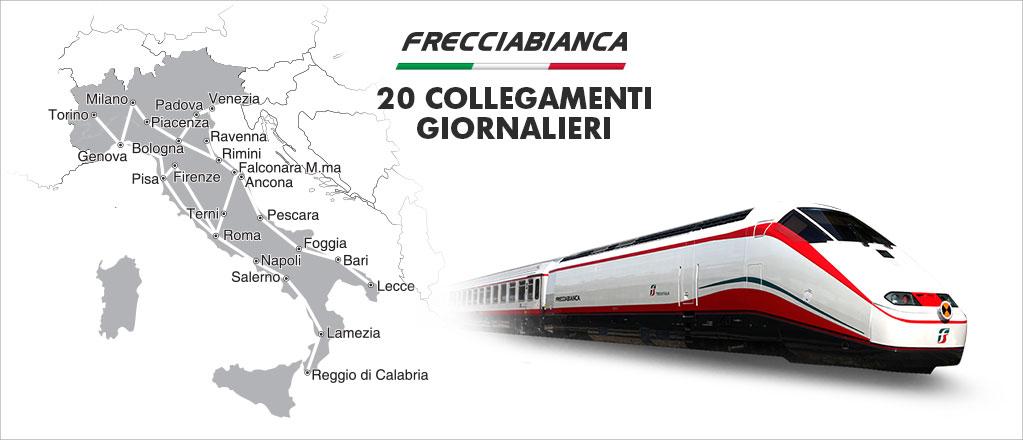 Frecciabianca train in Italy