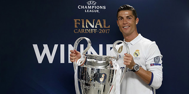 SBOBETASIA - Real Madrid Yakin Cristiano Ronaldo Tak Kemplang Pajak