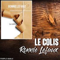 Livre Le Colis - Ronnie Lefaux