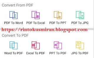 Cara Praktis Mengubah file word ke pdf dan pdf ke word di Android,