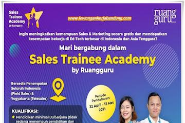 Lowongan Kerja Bandung Ruang Guru 2021