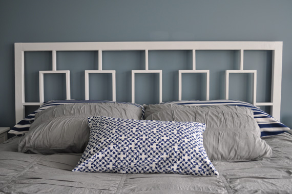 How can you make your own copy cat? & Remodelaholic | West Elm\u0027s Window Headboard Knock Off Tutorial Pezcame.Com