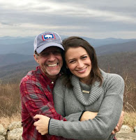 Kyle Petty and his wife Morgan #NASCAR
