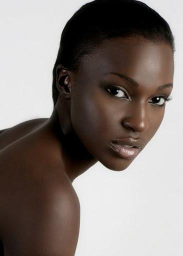 Dark Skin Black Women