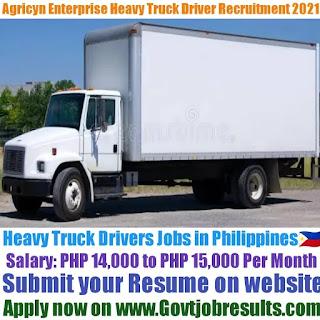 Agricyn Enterprise Heavy Truck Driver Recruitment 2021-22