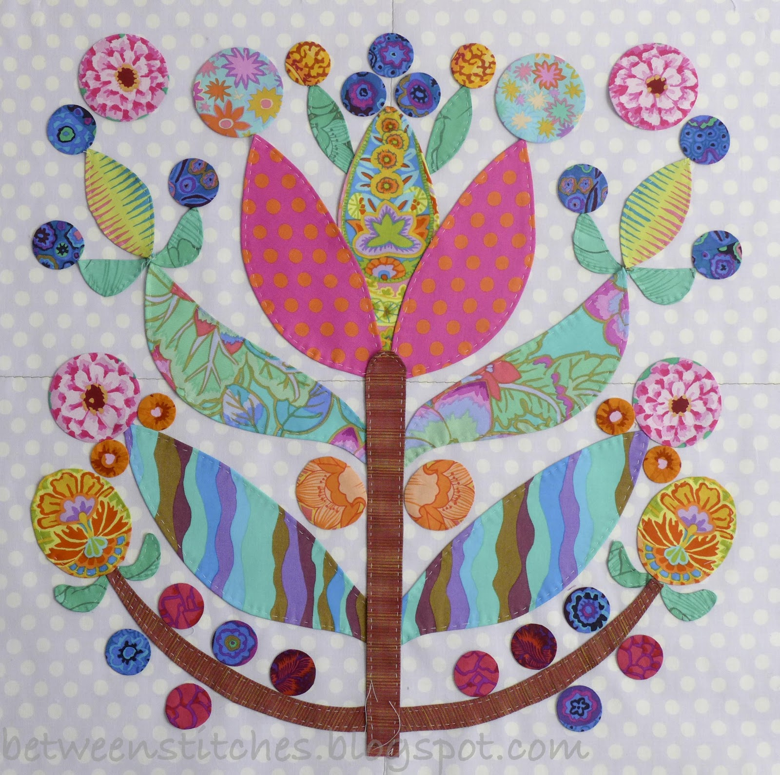 Applique Glorious Applique Lollipop Tree Block 2