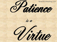 Image result for patience in a virture