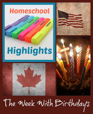Homeschool Highlights - The Week With Birthdays on Homeschool Coffee Break @ kympossibleblog.blogspot.com