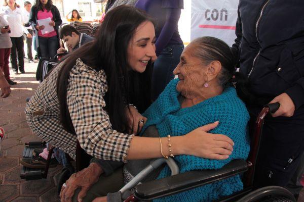 En Cholula trabajamos con acciones incluyentes y a favor de las personas con alguna discapacidad: Leticia Torres