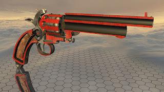 Coupe revolver Le Mat LeMat