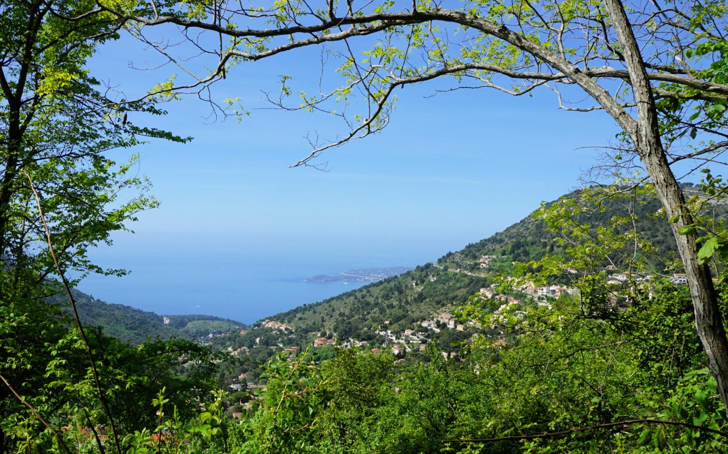 Glimpse of Cap Ferrat