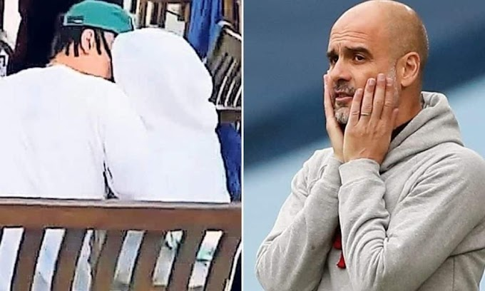 Tottenham Star, Dele Alli Sparks Dating Rumours With Pep Guardiola's Daughter As They Are Spotted 'Kissing' In London